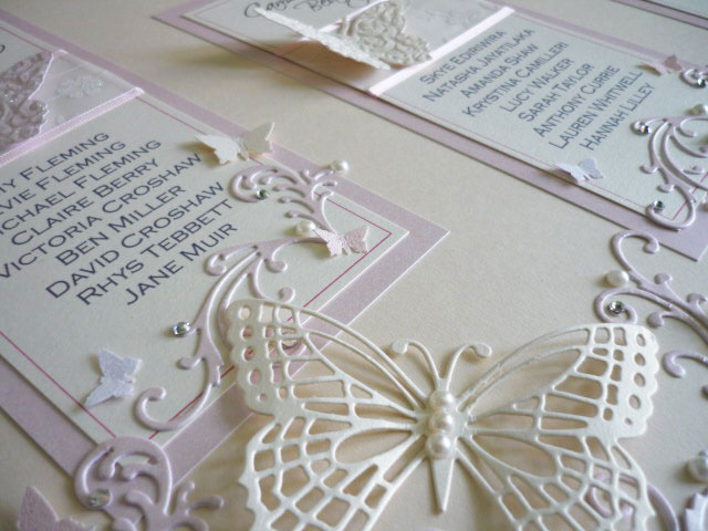 table plan butterfly